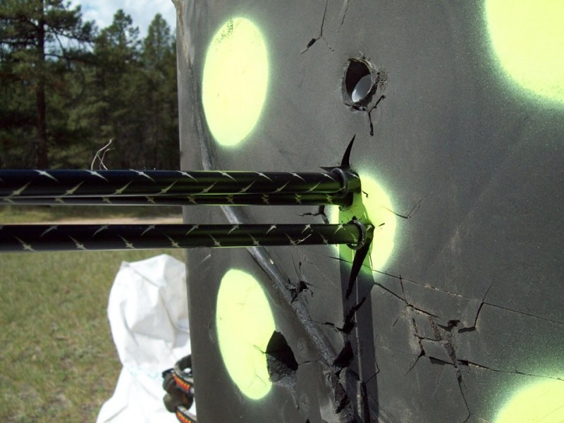 Target practice from your hunting blind is the best way to prepare you for an encounter in the field.