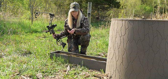 Targeting Deer Water Sources Banks Outdoors