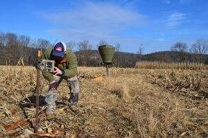 Whitetail deer management doesn't end with hunting season, but rather should extend throughout winter.