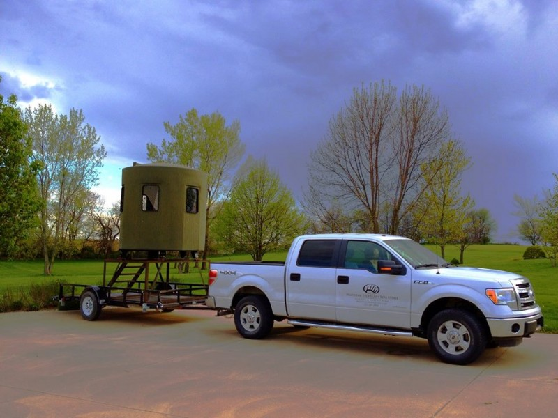 Moving And Storing Your Banks Hunting Blind Banks Outdoors