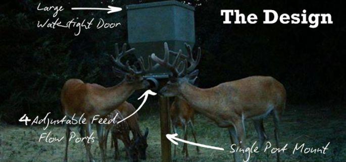 why you should choose a banks deer feeder banks outdoors. Black Bedroom Furniture Sets. Home Design Ideas